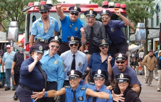 """The """"Pull"""" Monty team, Fire Truck Pull 2012"""
