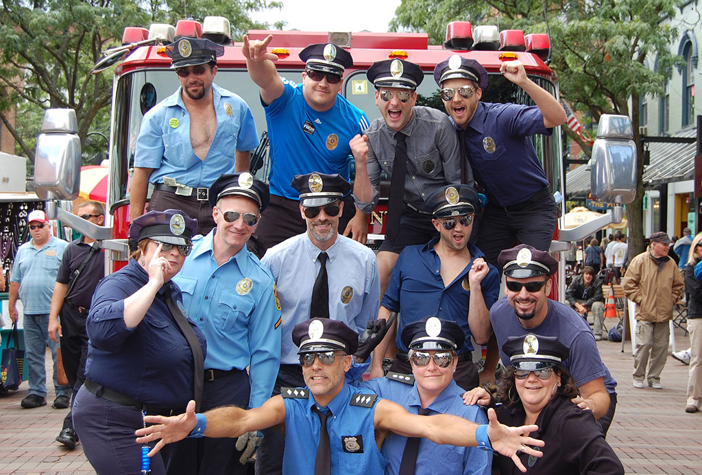 "The ""Pull"" Monty team, Fire Truck Pull 2012"
